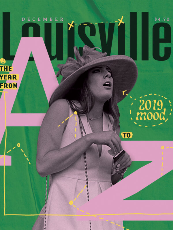 Louisville Magazine December 2019 cover