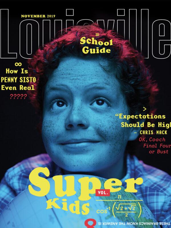 Louisville Magazine November 2019 cover