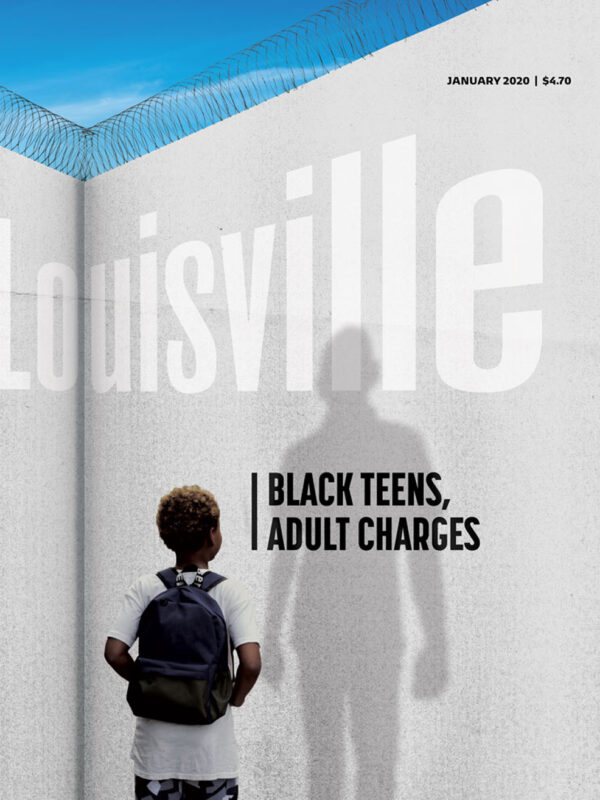 Louisville Magazine January 2020 cover