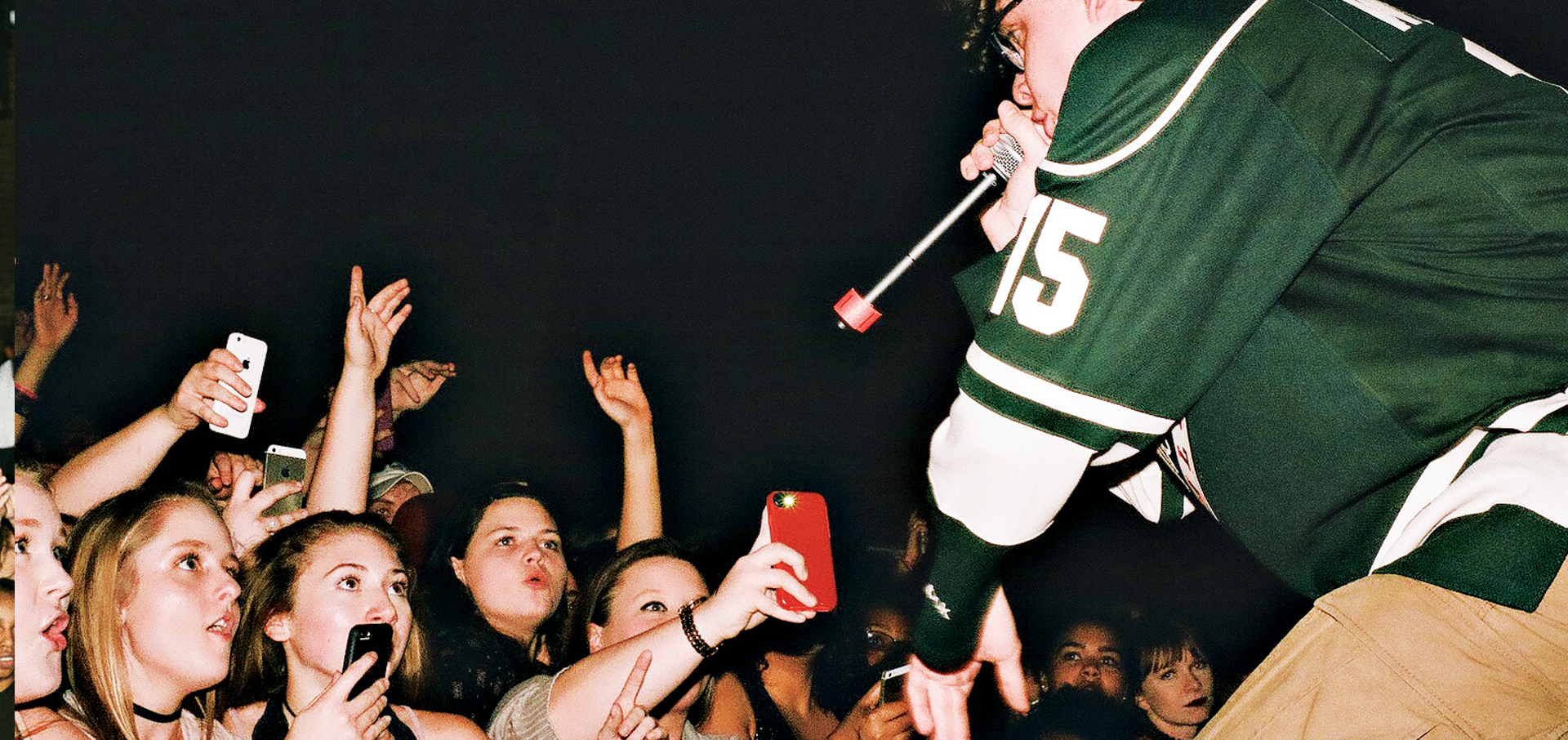 Jack Harlow performing at Headliners.