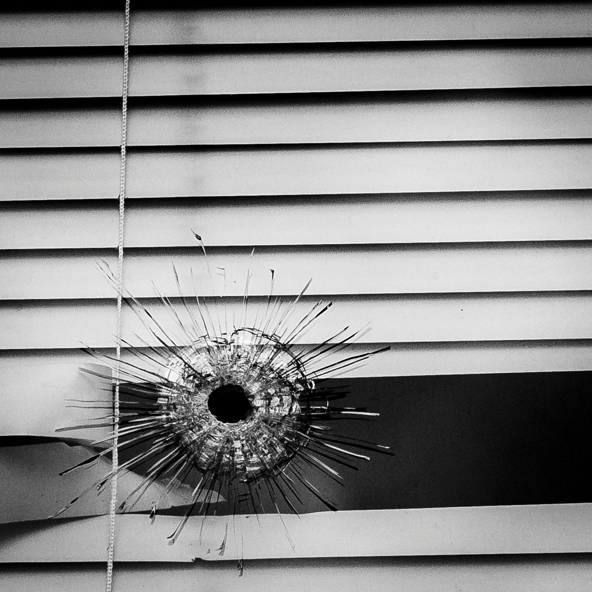 a pierced window