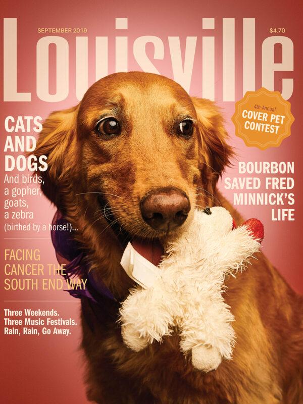 Louisville Magazine September 2019 cover