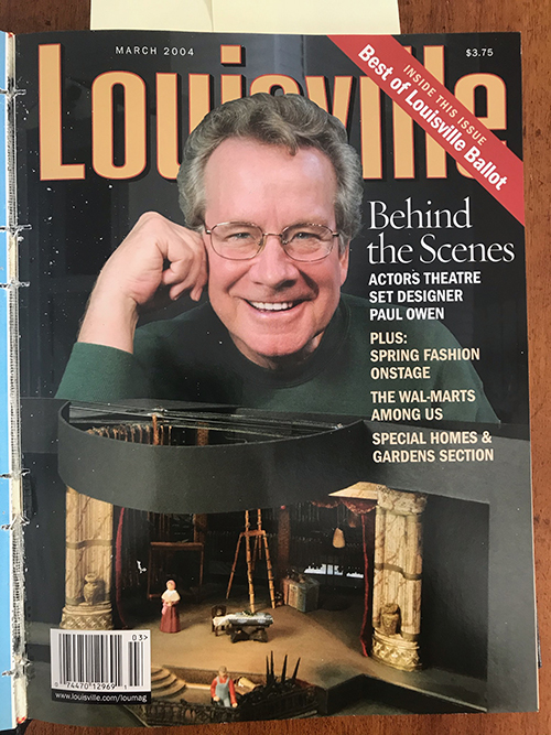 Louisville Magazine's March 2004 cover
