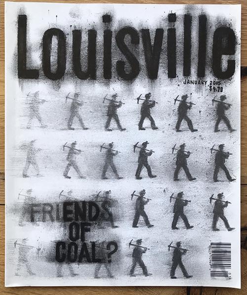 Louisville Magazine January 2015 cover