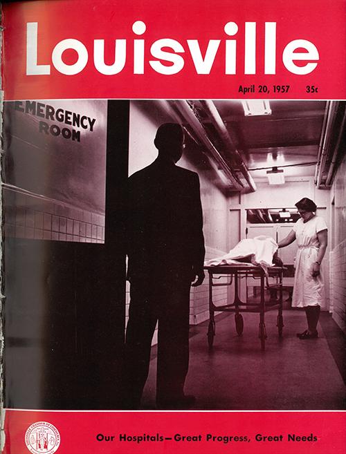Louisville Magazine's April 1957 cover