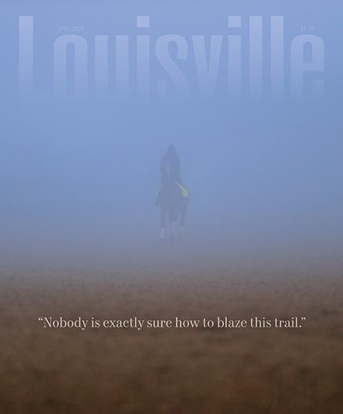 Louisville Magazine's April 2020 cover