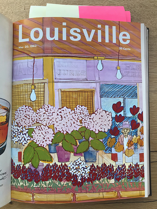 Louisville Magazine's May 1962 cover