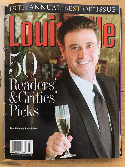 Louisville Magazine's July 2004 cover