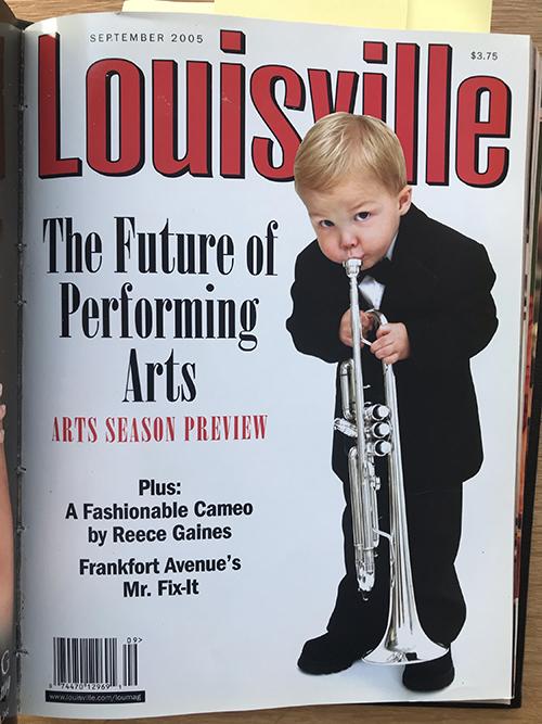 Louisville Magazine's September 2005 cover