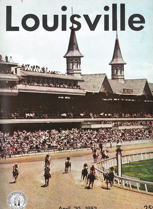 Louisville Magazine's April 1952 cover