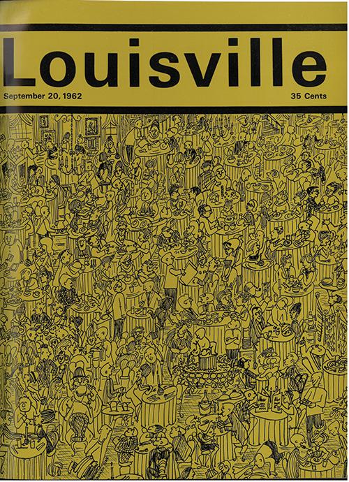 Louisville Magazine's September 1962 cover