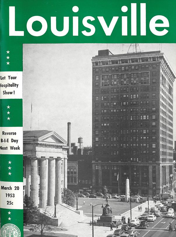 Louisville Magazine's March 1953 cover