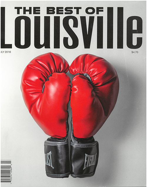 Louisville Magazine's July 2016 cover