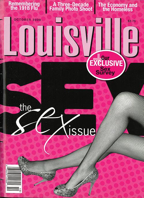 Louisville Magazine's October 2009 cover