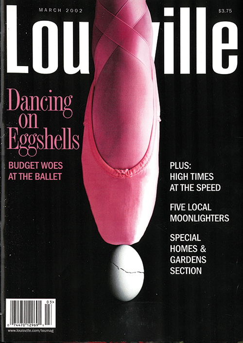 Louisville Magazine's March 2002 cover