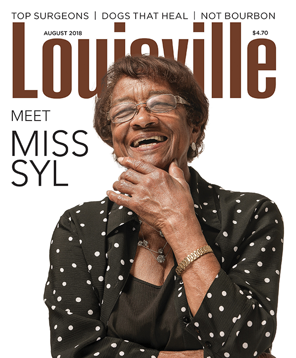 Louisville Magazine's August 2018 cover