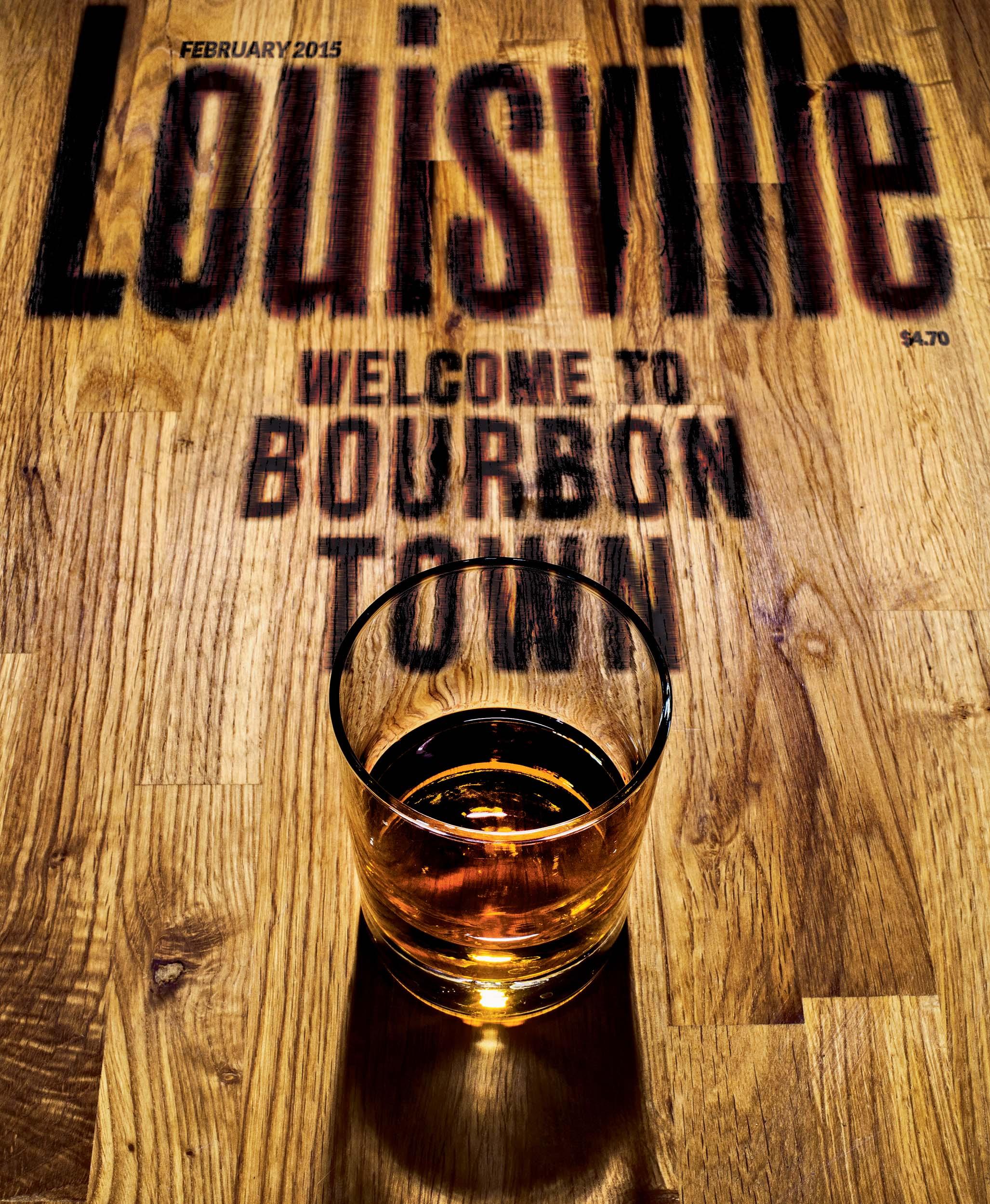 Louisville Magazine's February 2015 cover