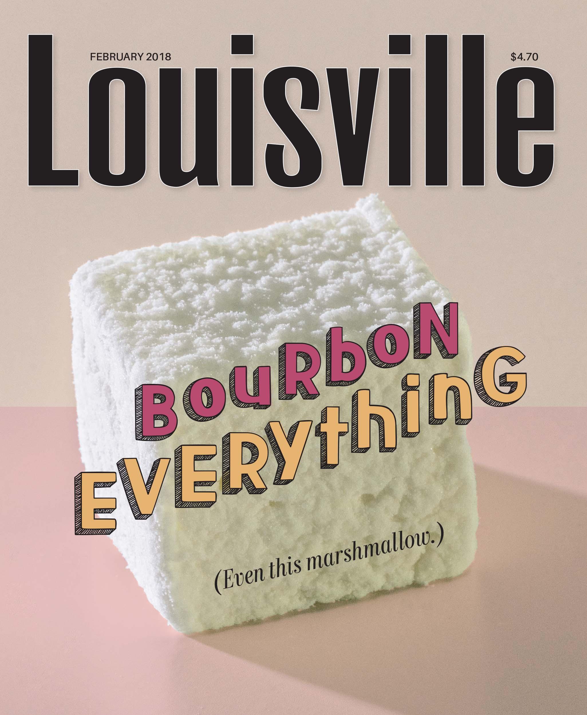 Louisville Magazine's February 2018 cover